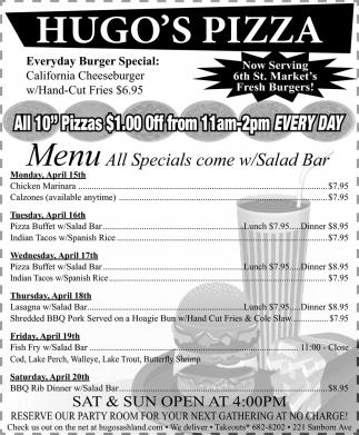 Everyday Burger Special