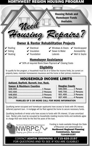 Need Housing Repairs?
