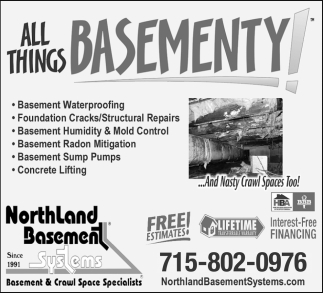 Basement & Crawl Space Specialists