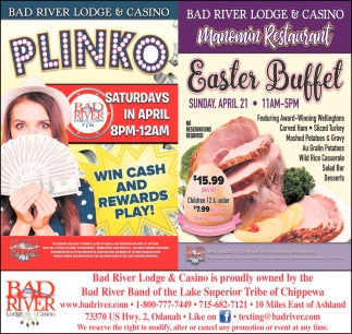 Plinko / Easter Buffet