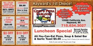 Hayward's 1st Choice!