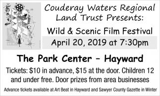 Couderay Waters Regional Land Trust Presents