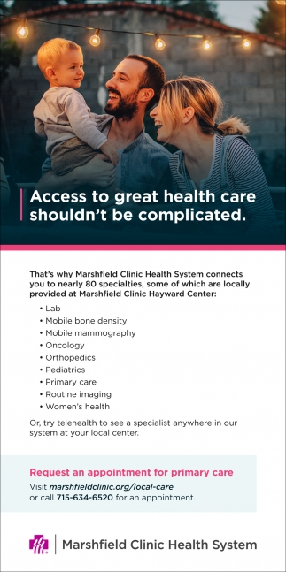 Request an appointment for primary care