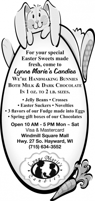 Easter Sweets, Bunnies, Dark Chocolate