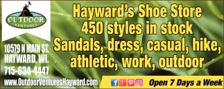 Sandals, dress, casual, hike, athletic, work, outdoor