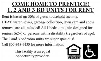 Come home to Prentice!