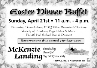 Easter Dinner Buffet