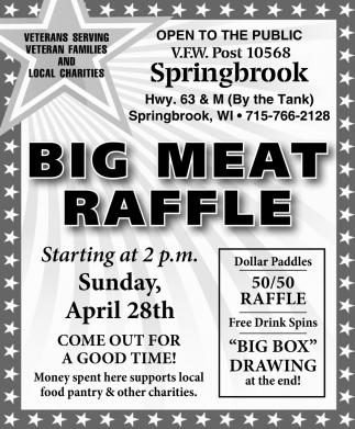 Big Meat Raffle