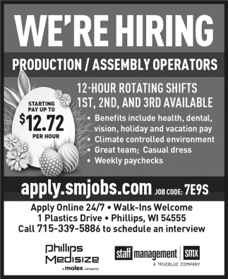 Production, Assembly Operators