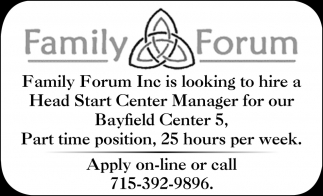 Head Start Center Manager