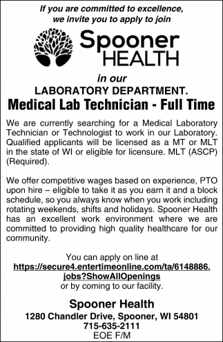Medical Lab Technician