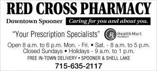 Your Prescription Specialists