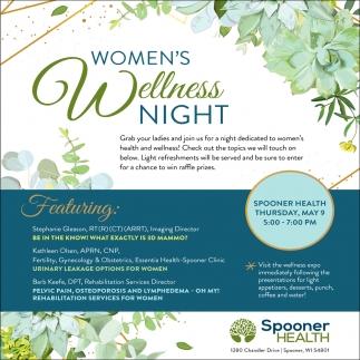 Women's Wellness Night