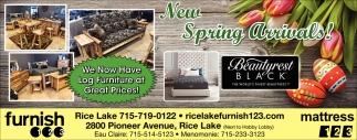 New Spring Arrivals!
