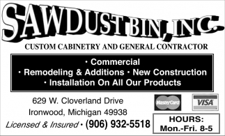 Custom cabinetry and general contractor