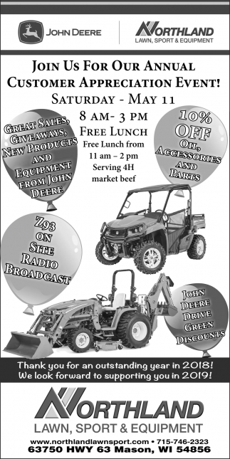 Annual Customer Appreciation Event