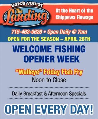 Walleye Friday Fish Fry