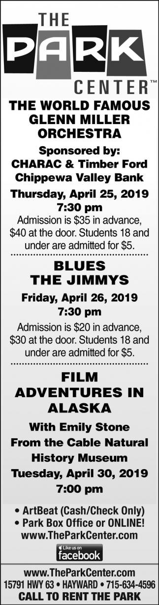 Glenn Miller Orchestra, The Jimmys, Film Adventures in Alaska