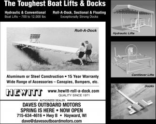 Boat Lifts & Docks