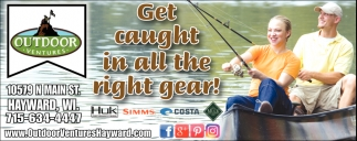 Get caught in all the right gear!