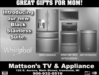 Black Stainless Suite