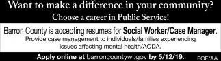 Social Worker / Case Manager