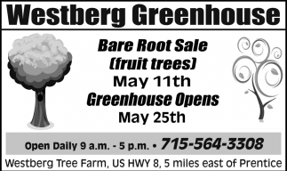 Bare Root Sale