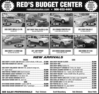 RED'S BUDGET CENTER