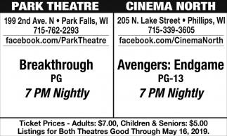 Breakthrough / Avengers: Endgame