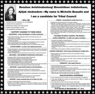 I am a candidate for Tribal Council