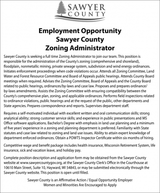 Zoning Administrator