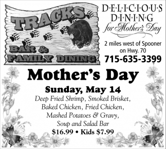 Dining for Mother's Day