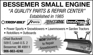 A Quality Parts and Repair Center