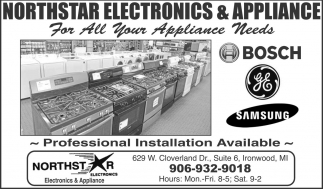 For all your appliance needs