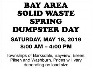 Spring Dumpster Day