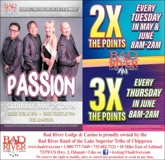 Passion / 2X The Points 3X The Points