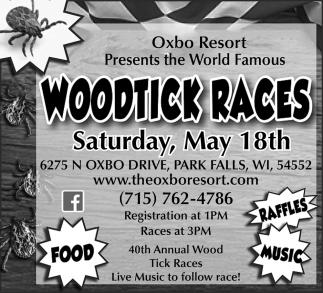Woodtick Races