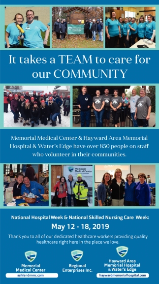 National Hospital Week & National Skilled Nursing Care Week