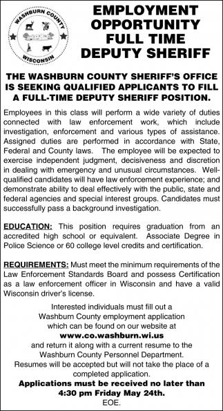 Deputy Sheriff