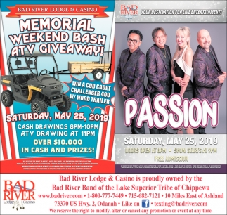 Memorial Weekend Bash ATV Giveaway / Passion