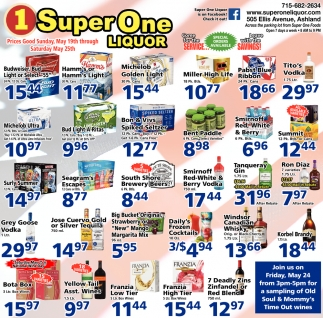Special Orders Available, 1 Super One Liquor, Ashland, WI