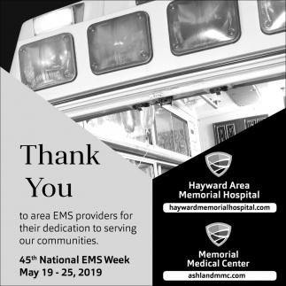 45th National EMS Week