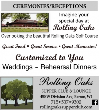 Ceremonies / Receptions