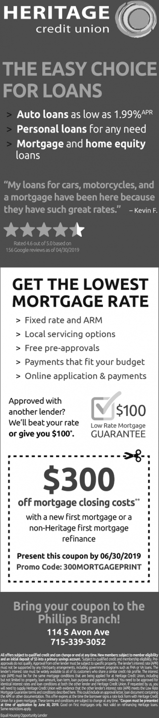 Auto Loans, Personal Loans, Mortgage and Home Equity Loans