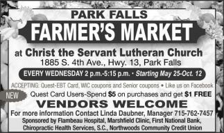 VENDORS WELCOME