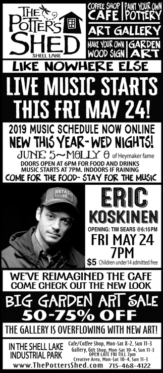 Live Music Starts this fry May 24!