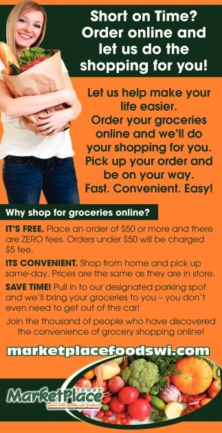 Order your groceries online