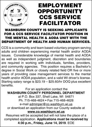 CCS Service Facilitator