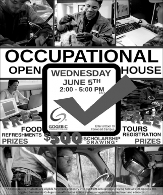 Occupational Open House
