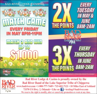 Match Game / 2X The Points 3X The Points